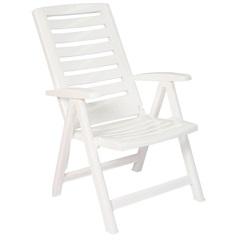 Cadeira Articulável em Polipropileno Tomar 104cm Branca - Xplast