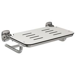 Cadeira de Banho em Aço Conforto 56,8x43cm Polida - Deca