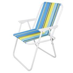 Cadeira de Praia 73x55cm Azul - Casanova