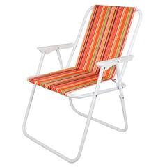 Cadeira de Praia 73x55cm Laranja - Casanova