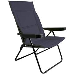 Cadeira de Praia com 4 Posições Alfa Azul - Metalurgica Mor