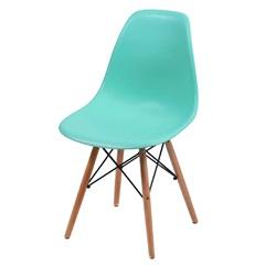 Cadeira Eames com Base em Madeira 46x46,5cm Tiffany - Ór Design