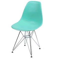 Cadeira Eames com Base em Metal 46x46,5cm Tiffany - Ór Design