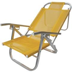 Cadeira em Alumínio Copacabana Amarela - Botafogo