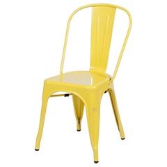 Cadeira em Alumínio Tommy Amarela - Ór Design