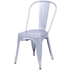Cadeira em Alumínio Tommy Cinza - Ór Design