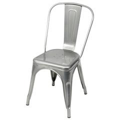 Cadeira em Alumínio Tommy Cromada - Ór Design