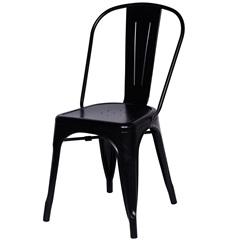 Cadeira em Alumínio Tommy Preta - Ór Design
