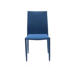 Cadeira em Poliéster Delson Trama 53x44cm Azul - Casa Etna