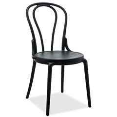 Cadeira em Polipropileno Boppard Out 44,5x50cm Preta - Casa Etna