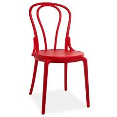 Cadeira em Polipropileno Boppard Out 44,5x50cm Vermelha - Casa Etna
