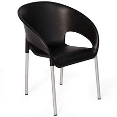 Cadeira em Polipropileno Coimbra 79cm Preta - Xplast