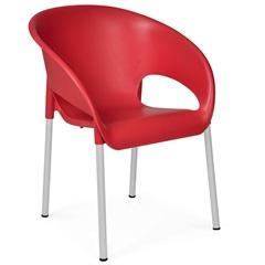 Cadeira em Polipropileno Coimbra 79cm Vermelha - Xplast