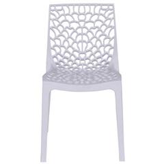 Cadeira em Polipropileno Gruvyer Branca - Ór Design