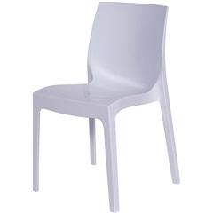 Cadeira em Polipropileno Ice Branca - Ór Design