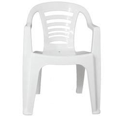 Cadeira em Polipropileno Natal 79,5x51cm Branca - Gardenlife