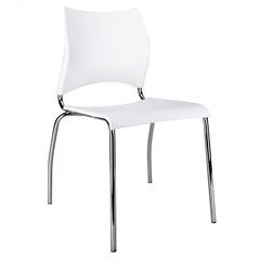 Cadeira em Polipropileno Potim Ii 48,5x56,5cm Branca - Casa Etna