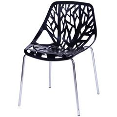 Cadeira Folha Preta - Ór Design