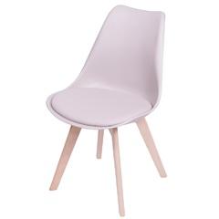 Cadeira Joly com Base em Madeira 47,5x49cm Fendi - Ór Design