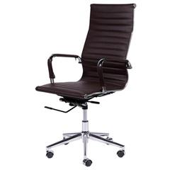 Cadeira para Escritório com Base Giratória Eames 114x61cm Café - Ór Design