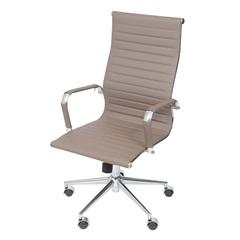 Cadeira para Escritório com Base Giratória Eames 114x61cm Caramelo - Ór Design