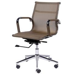 Cadeira para Escritório com Base Giratória Eames Tela 97x61cm Cobre - Ór Design