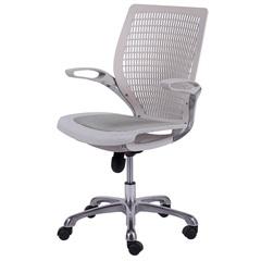 Cadeira para Escritório com Base Giratória Office Age 100x60cm Branca - Ór Design