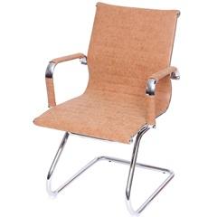 Cadeira para Escritório Eames 89x54,5cm Castanho - Ór Design