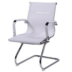 Cadeira para Escritório Eames Tela 89x54,5cm Branca - Ór Design