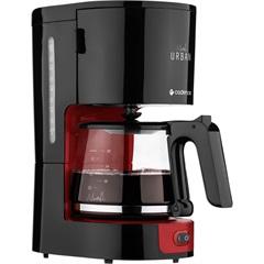 Cafeteira Urban Coffee 750w 110v Preta E Vermelha - Cadence