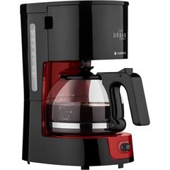 Cafeteira Urban Compact 600w 220v Preta E Vermelha - Cadence