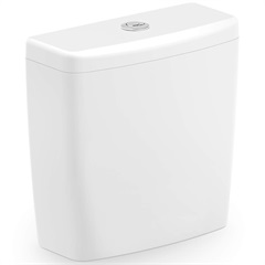 Caixa Acoplada 3 E 6 Litros Zip Branca - Incepa