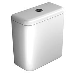 Caixa Acoplada com Acionamento Duo Carrara Branca - Deca