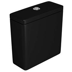 Caixa Acoplada com Acionamento Duplo Quadra Ébano - Deca