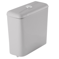 Caixa Acoplada Thema 3/6 Litros Cinza Platina - Incepa