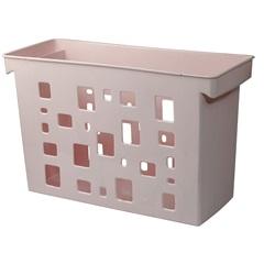 Caixa Arquivo Suspensa Dellocolor 27x44cm Rosa - Dello