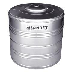 Caixa D'Água em Aço Inox 1.500 Litros Compacta Ac - Sander
