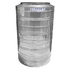 Caixa D'Água em Aço Inox 2.000 Litros Compacta Bg - Sander