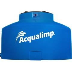 Caixa D'Água em Polietileno Água Protegida com 1000 Litros Azul - Acqualimp