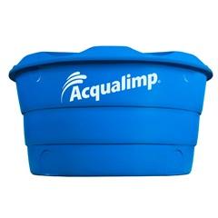 Caixa D'Água em Polietileno Básica com 310 Litros Azul - Acqualimp