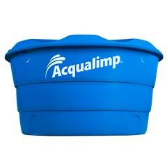 Caixa D'Água em Polietileno Básica com 500 Litros Azul