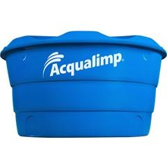 Caixa D'Água em Polietileno Dupla Proteção 1000 Litros Azul - Acqualimp
