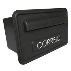 Caixa de Correio 15,7x25,7cm Preta - Fixtil