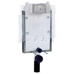 Caixa de Descarga Embutida Pneumática para Alvenaria E Bacia Suspensa - Hydra