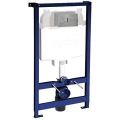Caixa de Descarga Embutida Pneumática para Drywall E Bacia Suspensa - Hydra