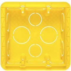 Caixa de Embutir para Alvenaria 4x4 Amarela - Pial Legrand