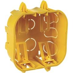 Caixa de Embutir para Drywall 4x4'' Amarela - Cemar