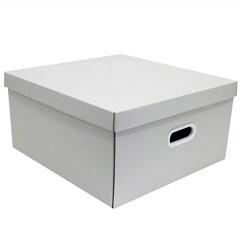 Caixa Organizadora Big 7x45cm Branca - Boxgraphia
