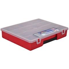 Caixa Organizadora com 18 Divisórias Vermelha - Metropac