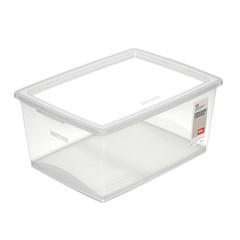Caixa Organizadora com Trava Bel Cristal 30 Litros - Ordene